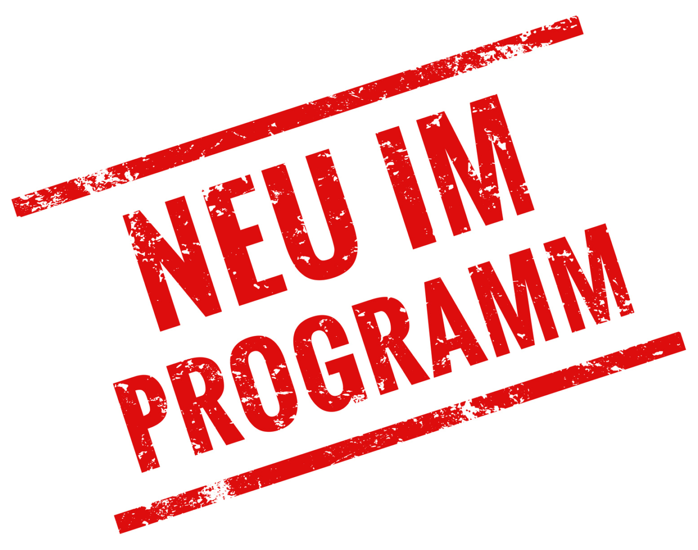 Neu im Programm - Stempel