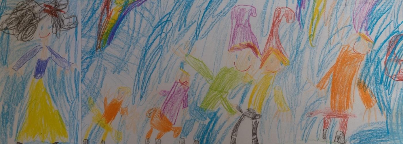 Geschichten erfinden gemeinsam mit Kindern